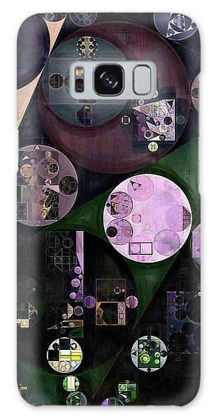 Sea Lily Galaxy Case - Abstract Painting - Onyx by Vitaliy Gladkiy