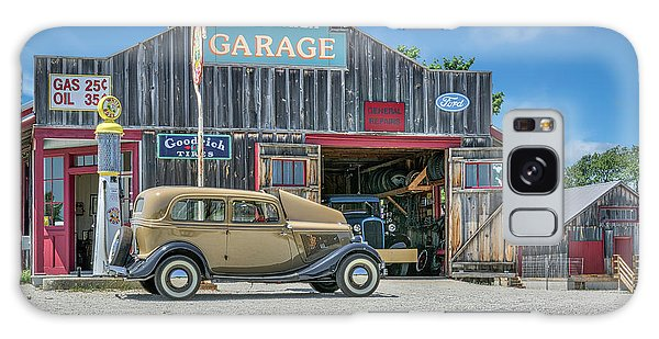 '34 Ford Sedan At Blue Water Garage Galaxy Case by Irwin Seidman