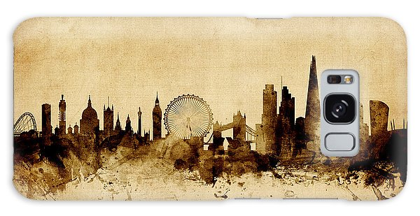 England Galaxy Case - London England Skyline by Michael Tompsett
