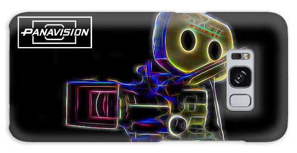 Galaxy Case featuring the digital art 35mm Panavision by Aaron Berg