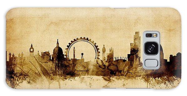 London England Skyline Galaxy Case by Michael Tompsett
