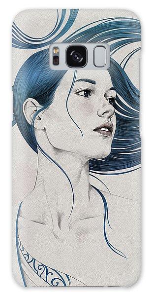 Hair Galaxy Case - 361 by Diego Fernandez