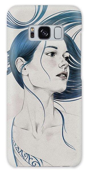 Girl Galaxy Case - 361 by Diego Fernandez