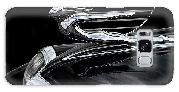 Chrome Galaxy Case - 37 Cadillac Hood Angel by Douglas Pittman
