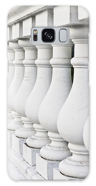 Banister Galaxy Case - Stone Wall by Tom Gowanlock