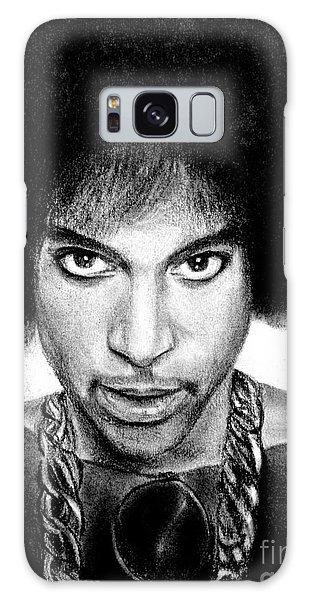 3rd Eye Girl - Prince Charcoal Portrait Drawing - Ai P Nilson Galaxy Case