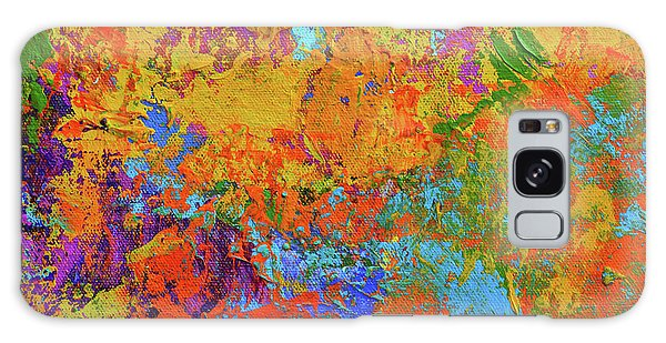 Abstract Painting Modern Art Contemporary Design Galaxy Case
