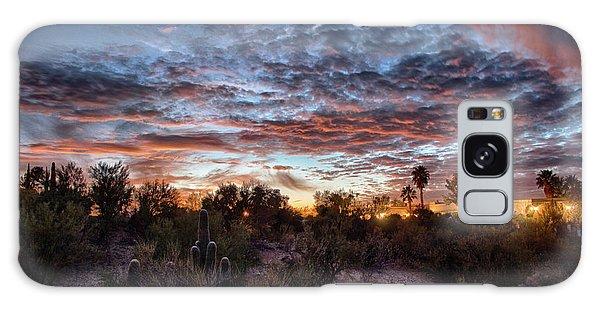 Arizona Sunset Galaxy Case