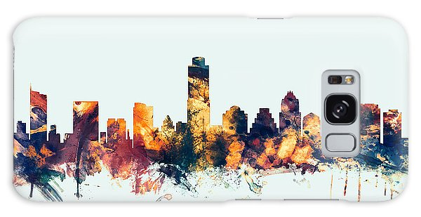 Austin Texas Skyline Galaxy Case