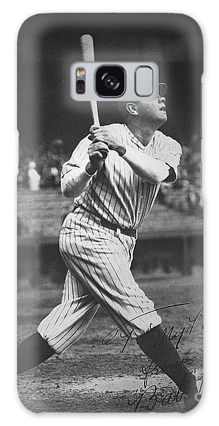Baseball Bats Galaxy S8 Case - Babe Ruth  by American School