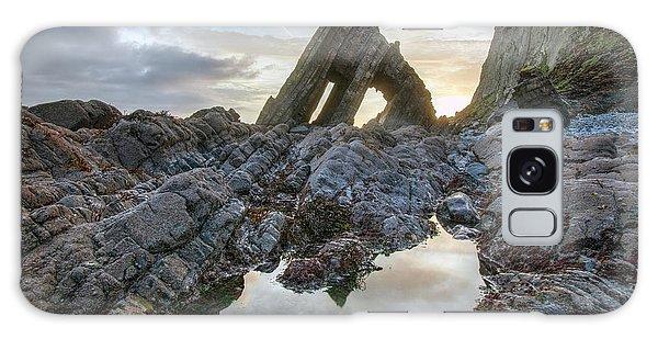 North Devon Galaxy Case - Blackchurch Rock - England by Joana Kruse