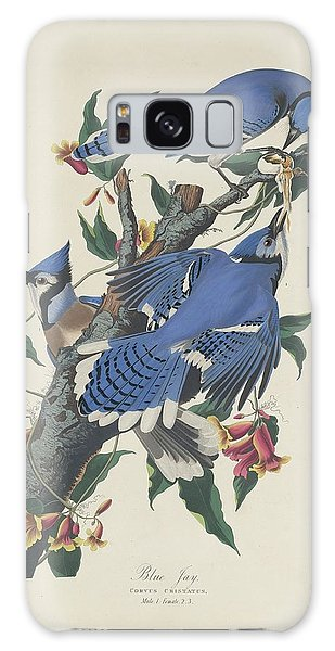 Blue Jay Galaxy Case by Dreyer Wildlife Print Collections