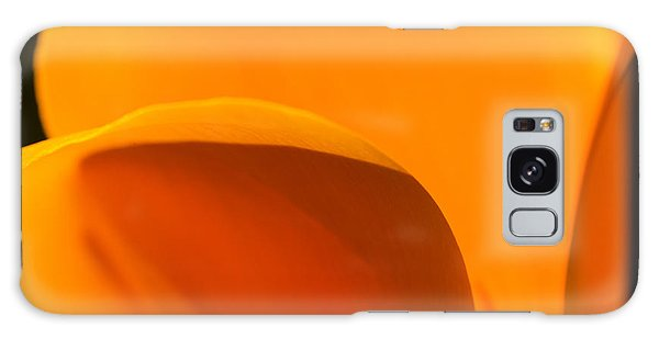 Californian Poppies Galaxy Case