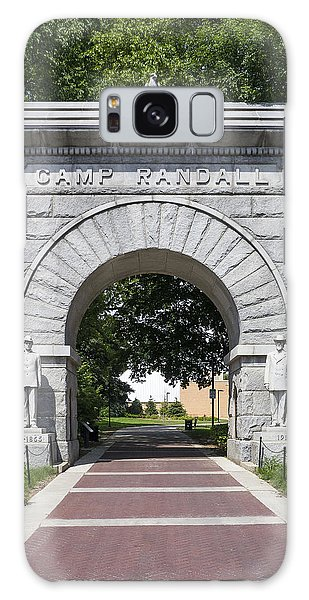 Camp Randall Memorial Arch - Madison Galaxy Case by Steven Ralser