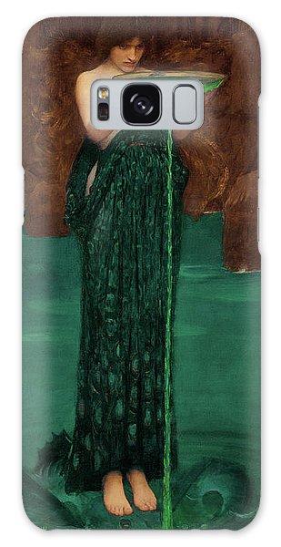 Mythological Galaxy Case - Circe Invidiosa by John William Waterhouse