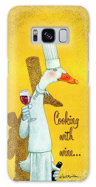 Cooking With Wine... Galaxy Case