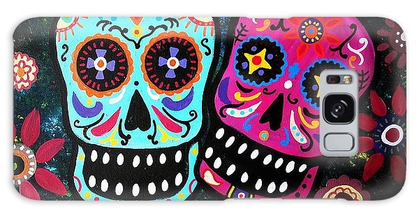 Couple Day Of The Dead Galaxy Case