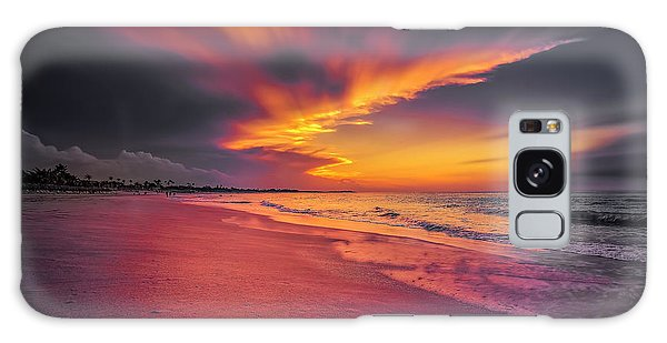 Galaxy Case featuring the photograph Dominicana Beach by Peter Lakomy