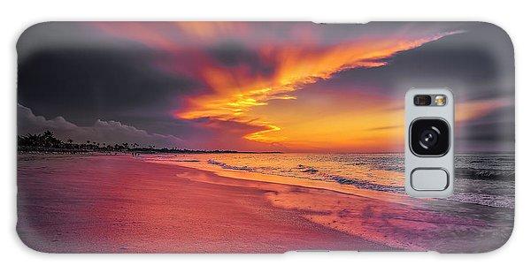 Dominicana Beach Galaxy Case