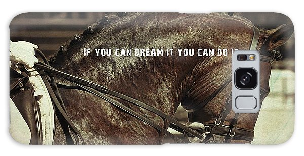 Dream It Quote Galaxy Case