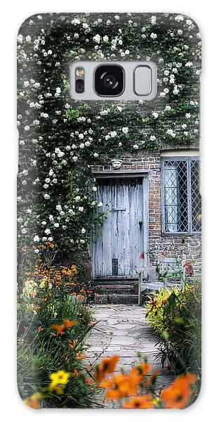 English Countryside Galaxy Case - English Cottage by Joana Kruse