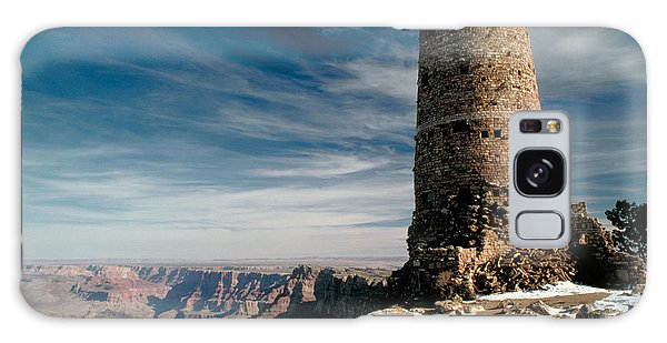Desert View Tower Galaxy Case - Grand Canyon by George Ranalli