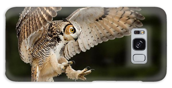 Great Horned Owl Galaxy Case by CR Courson