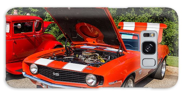 Hall County Sheriffs Office Show And Shine Car Show Galaxy Case by Michael Sussman