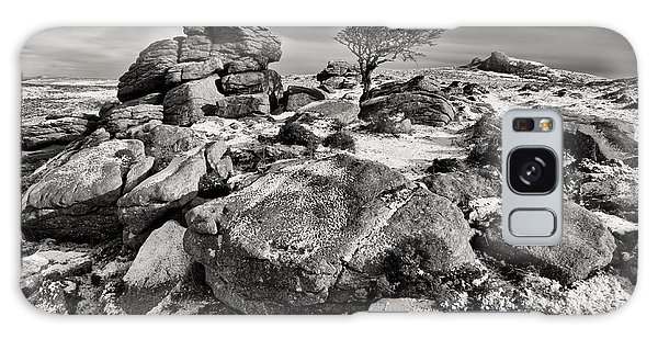 Holwell Tor On Dartmoor Galaxy Case