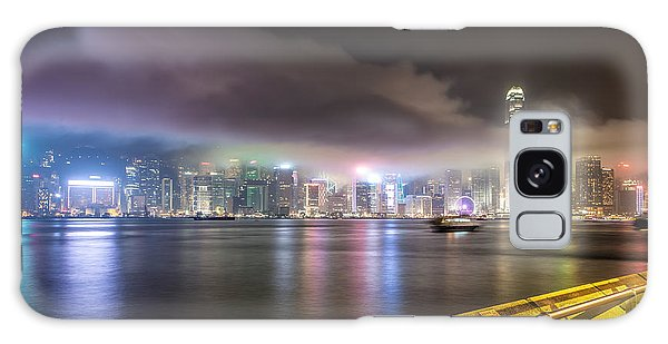 Hong Kong Stunning Skyline Galaxy Case