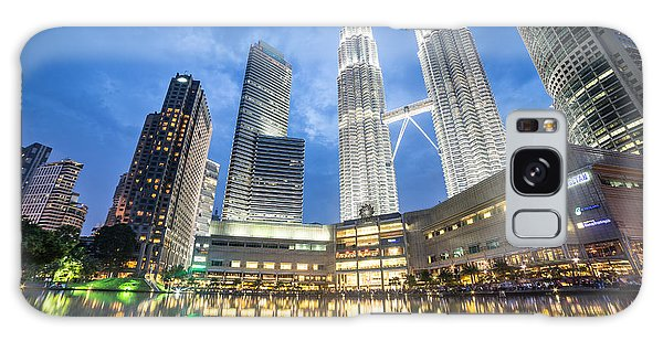 Kuala Lumpur Petronas Towers Galaxy Case
