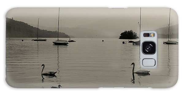 Cold Day Galaxy Case - Lake Windermere by Martin Newman