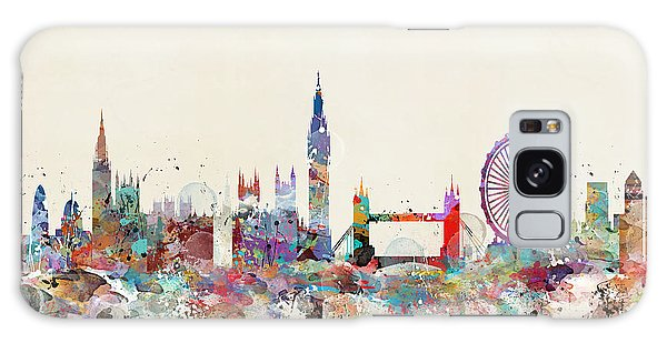 London City Skyline Galaxy Case