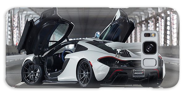 Galaxy Case featuring the photograph #mclaren #p1 #print by ItzKirb Photography