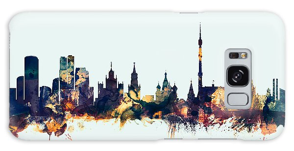 Moscow Russia Skyline Galaxy S8 Case