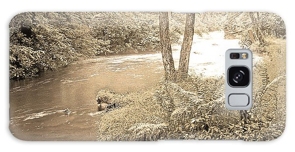Galaxy Case - Mud Run Pocono Mountain Stream Pennsylvania by A Gurmankin