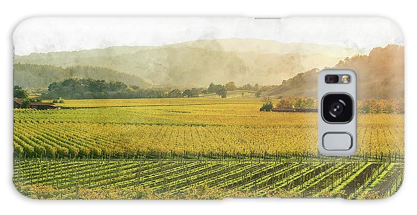 Napa Valley California In Autumn Galaxy Case