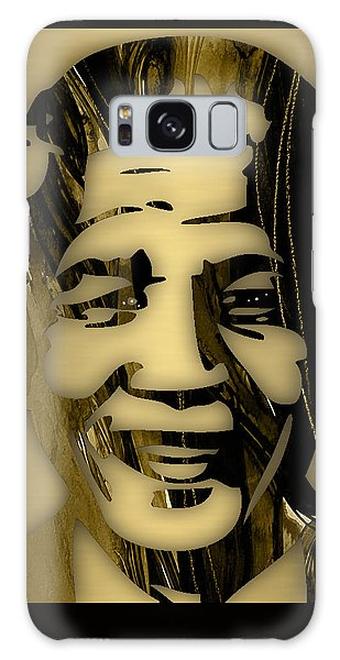 Nelson Mandela Collection Galaxy Case by Marvin Blaine