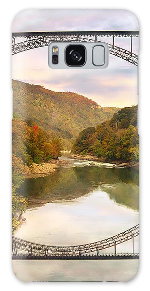 New River Gorge Bridge Galaxy Case