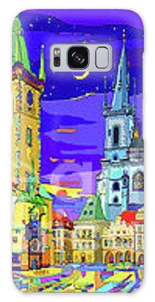 Galaxy Case - Prague Old Town Square by Yuriy Shevchuk