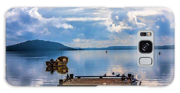 Quiet Lake Galaxy Case by Rick Bragan