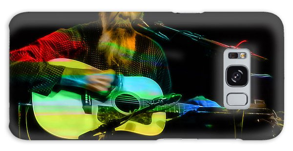 Folk Singer Galaxy Case - Richie Havens Collection by Marvin Blaine