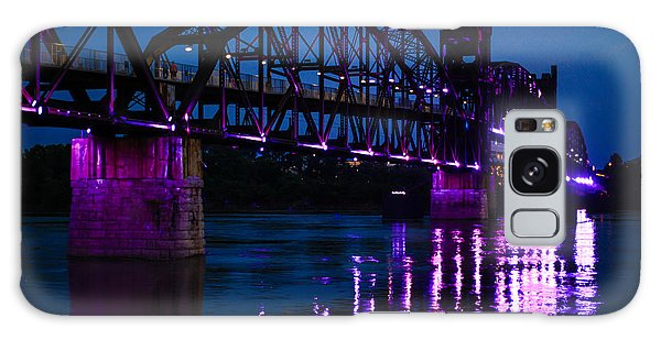 Rock Island Bridge Arkinsas Galaxy Case by Chris Smith