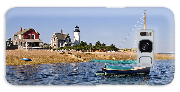 Sandy Neck Lighthouse Galaxy Case