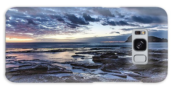 Seascape Cloudy Nightscape Galaxy Case