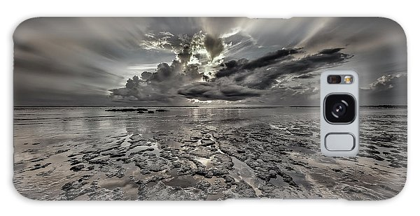Seascape Of Hilton Head Island Galaxy Case