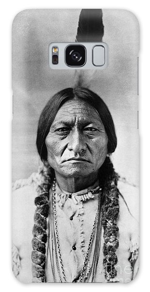 Men Galaxy Case - Sitting Bull 1834-1890. To License For Professional Use Visit Granger.com by Granger