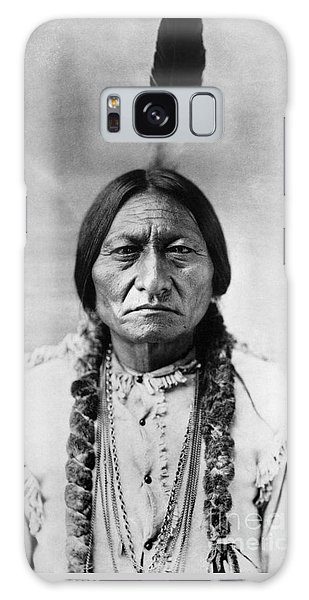 Sitting Bull 1834-1890. To License For Professional Use Visit Granger.com Galaxy Case