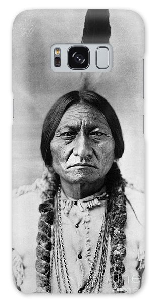 Portraits Galaxy Case - Sitting Bull 1834-1890. To License For Professional Use Visit Granger.com by Granger