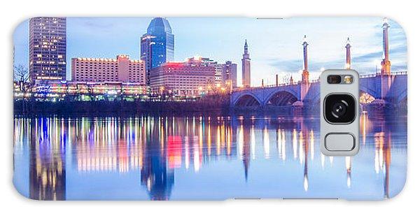 Springfield Massachusetts City Skyline Early Morning Galaxy Case